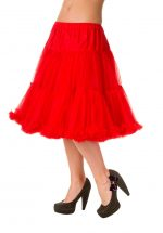 Banned Supersoft Starlite Petticoat Red 23 inch